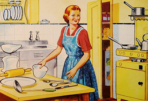 damskie fartuchy kuchenne