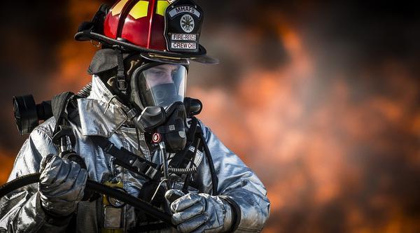 bojowy mundur strażacki